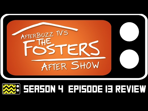 The Fosters Season 4 Episode 14  w Amanda Leighton  AfterBuzz TV