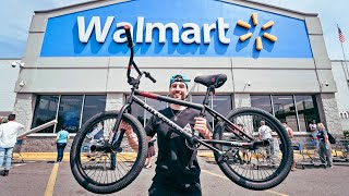 $99 Walmart BMX Bike Vs NYC Streets 3