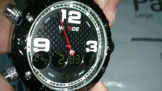 Reviews Weide WH3405 Male Japan Movt Watch
