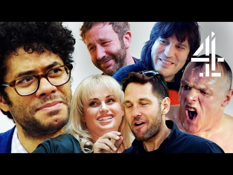 Best of Richard Ayoade Hanging Out With His Celeb Mates in Travel Man