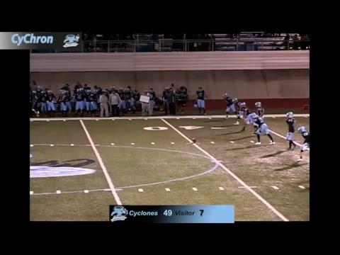 Boys Football Pueblo West Cyclones vs. Coronado Cougars