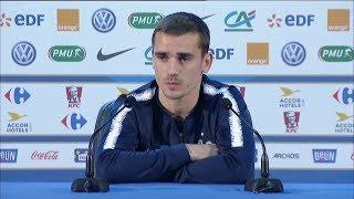Coupe du monde : Antoine Griezmann en conférence de presse après la victoire contre l'Argentine