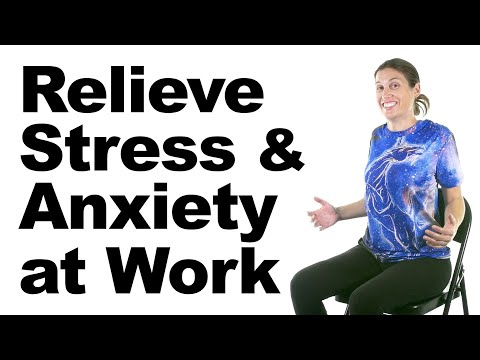 Relieve Stress & Anxiety at Work