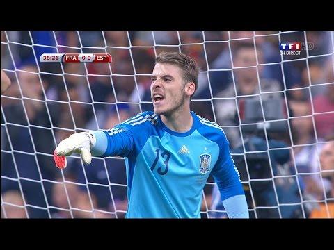 David De Gea Vs. France 14-15 [Away] [HD 1080p]