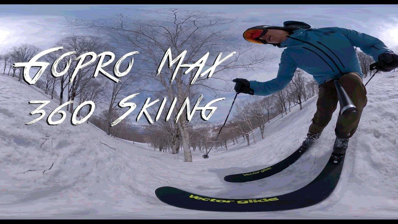 Kenji Kono skiing @野沢温泉スキー場 VR