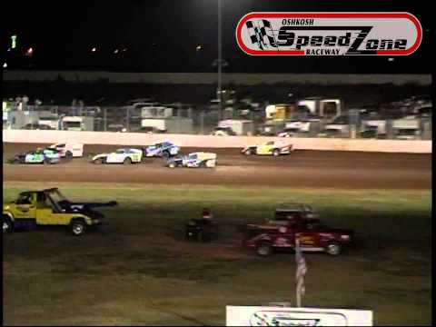 Oshkosh Speedzone Raceway - August 16, 2013 - Modified Feature