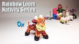 Rainbow Loom Nativity Series: Ox