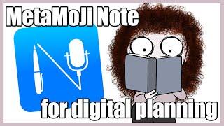 MetaMoJi Note for Digital Planning?