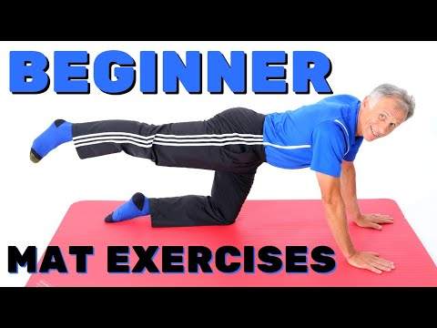 Top 10 Mat/Floor Exercises for Beginners or Out of ShapeNO Equipment