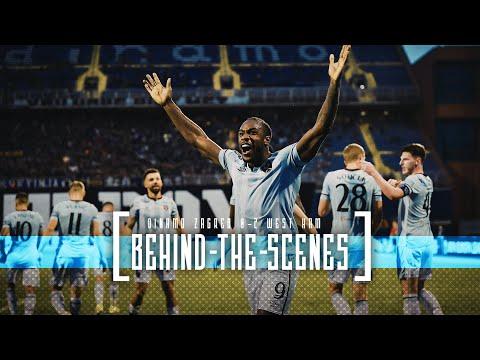 BEHIND THE SCENES |  WEST HAM UNITED 2-0 DINAMO ZAGREB