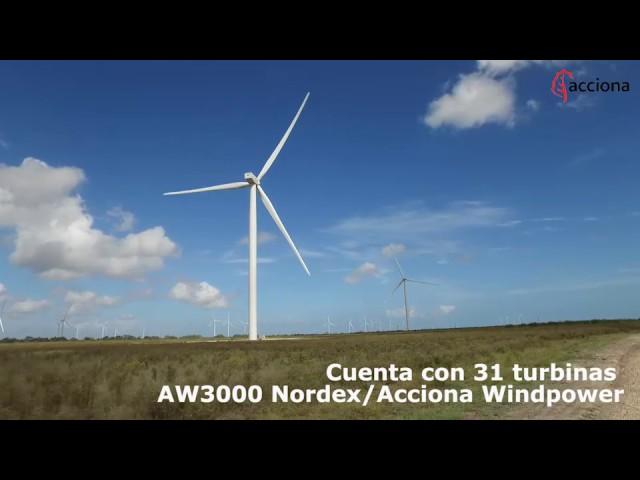 Ya en marcha el parque eólico de San Román (Texas)- ACCIONA