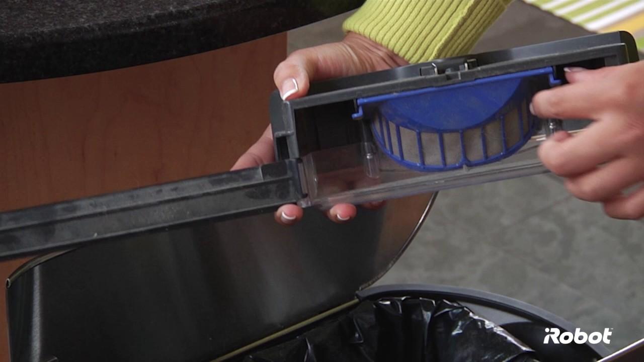 iRobot Roomba® 600 Series | Filter & Bin Care