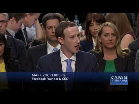 Facebook CEO Mark Zuckerberg complete Opening Statement (C-SPAN)