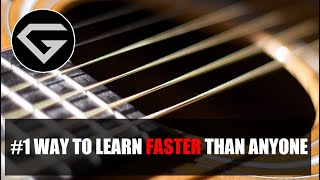 Baixar #1 way to learn faster than anyone - Guitar mastery lesson