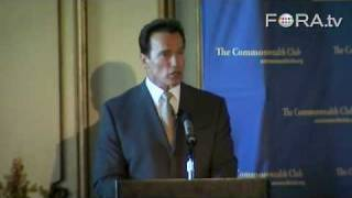 "Schwarzenegger to Detroit: ""Get Off Your Butt"" on Fuel-Efficient Vehicles"