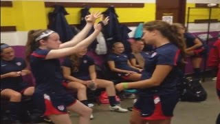 Rose Lavelle shares experience with U.S. National Team