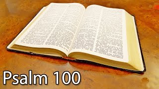 Psalm 100  - Giving Thanks
