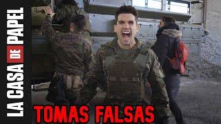 La casa de papel TOMAS FALSAS!!! *increible* | Ultima Temporada