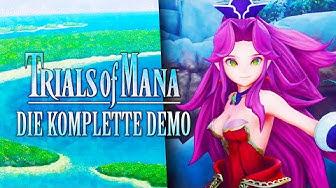 TRIALS OF MANA - Die KOMPLETTE Demo!