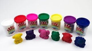 Learn Colors with Plasticine, Forms of Colored Animals, Toys for Kids Video for Kids
