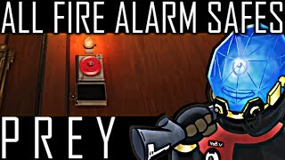 All 6 Fire Alarm Safes Guide | Talos Smuggling Ring - PREY 2017