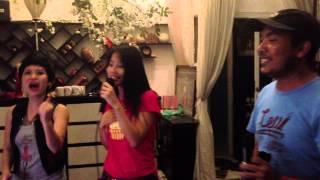 Diễm My 9X, Hồng Mơ nhảy điệu Khmer cực sung hát Thất Tình
