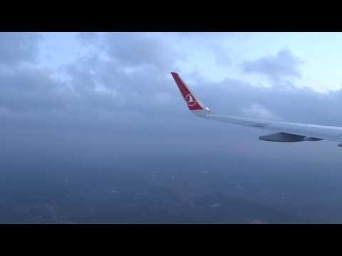 THY - Turkish Airlines Flight TK825 - Landing At Istanbul Atatürk Airport (2017-02-03)