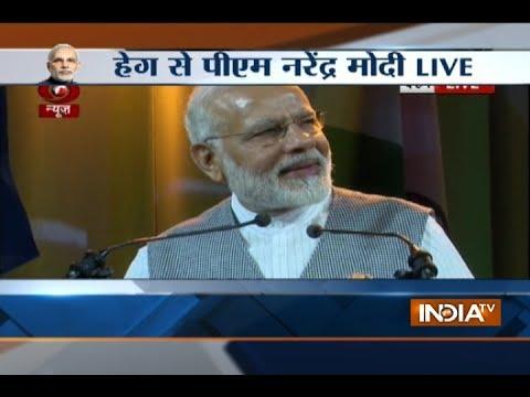 PM Modi stresses on women empowerment, development during his addressal in Netherlands