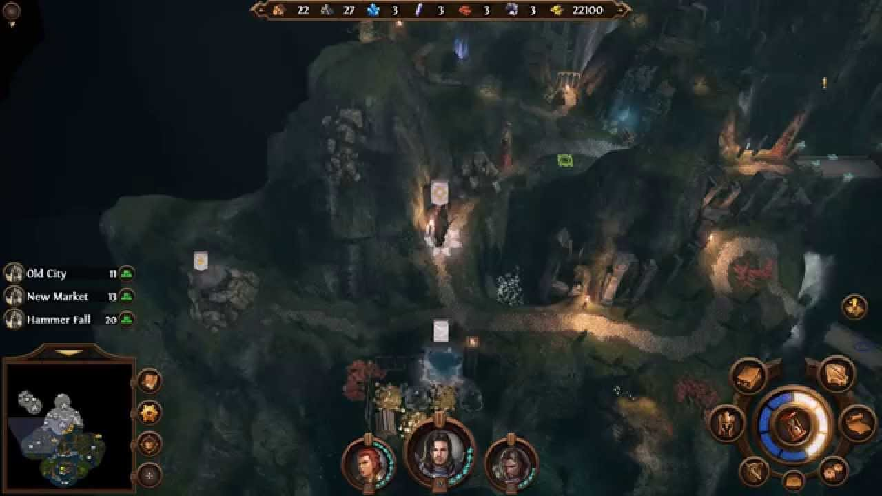 Might And Magic Heroes VII Haven Campaign Mission 3