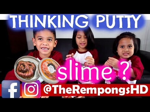 SLIME THINKING PUTTY REVIEW 1  TheRempongs