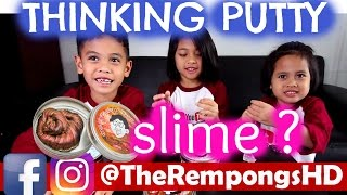 SLIME THINKING PUTTY REVIEW #1 | TheRempongsHD