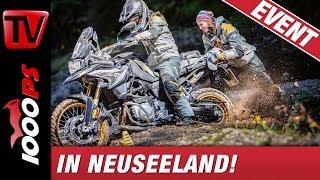 Enduroparadies Neuseeland - BMW Motorrad GS Trophy 2020 - Reise und Abenteuer