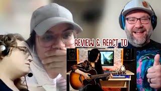 REACTION Weird Genius & Josephine Alexandra Lathi BOTH Song & Guitar Cover Musicians Panel REACTS