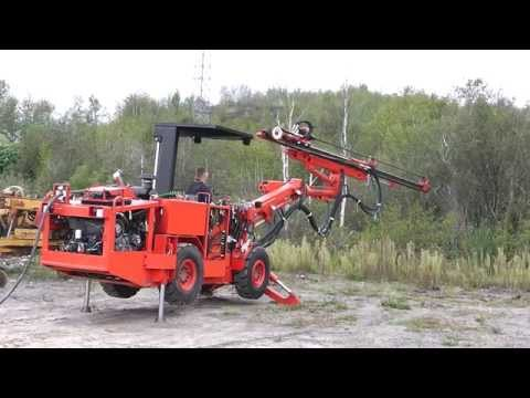 McDowell Equipment - Tamrock Single Boom Quasar Jumbo Drill