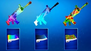 *NEW* WEAPON SKINS REWARDS in Fortnite Battle Royale! (Secret Fortnite Wraps Rewards)