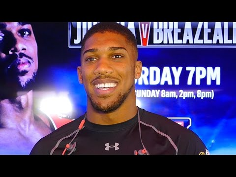 Anthony Joshua: IN or OUT the EUROPEAN UNION?