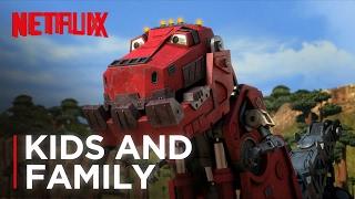 Video DreamWorks Dinotrux   Official Trailer [HD]   Netflix download MP3, 3GP, MP4, WEBM, AVI, FLV Agustus 2017