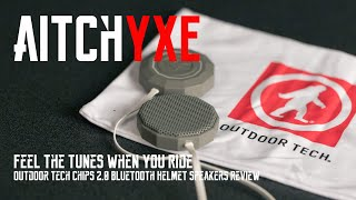 Feel the Tunes When You Ride - Outdoor Tech Chips 2.0 Bluetooth Helmet Speakers Review