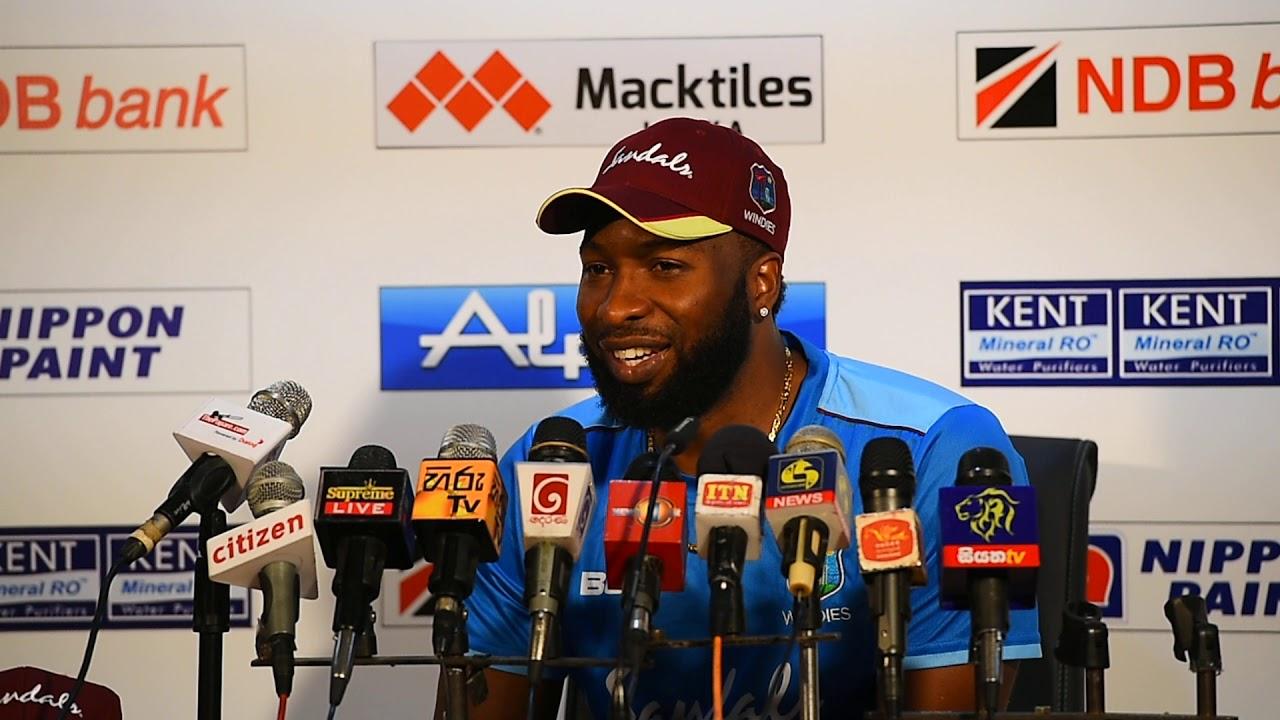 Kieron Pollard after winning the 1st T20I | Post Match Press Conference -  YouTube