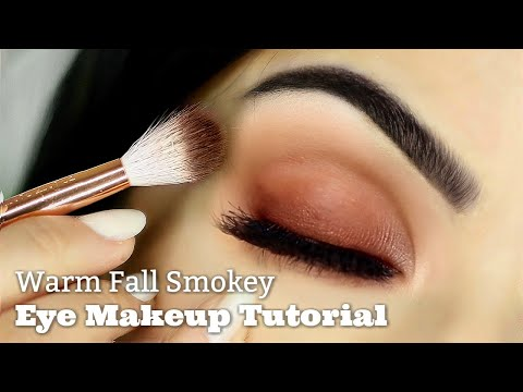 Beginners Warm Smokey Eye Makeup Tutorial | Parts of the Eye | How To Apply Eyeshadow thumbnail