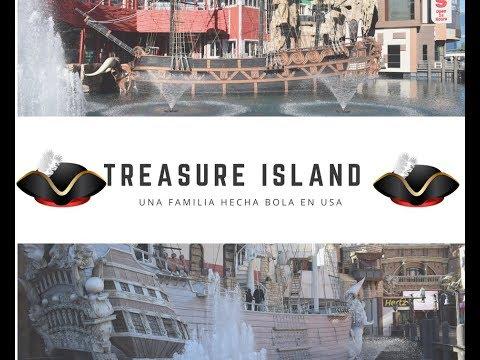 Conoce el Hotel Treasure Island en Las Vegas Nevada.