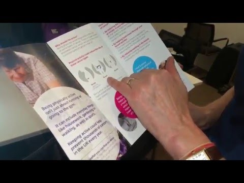 Cancer Awareness Roadshow 2016: the importance of staying active