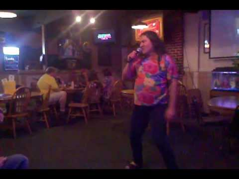 Epic karaoke Drunk guy fail