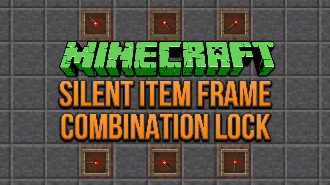 Contemporary Minecraft How To Make Item Frame Composition - Picture ...