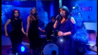 "Jane McDonald singing ""It May Be Winter Outside"" live in television studio on 13/12/13"