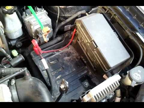 2005 Malibu Maxx Battery amp Alternator Upgrade YouTube