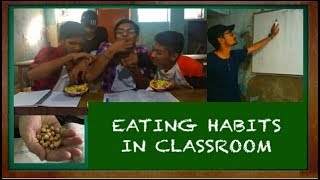If you have ever eaten in the middle of lecture when sir is not wat...