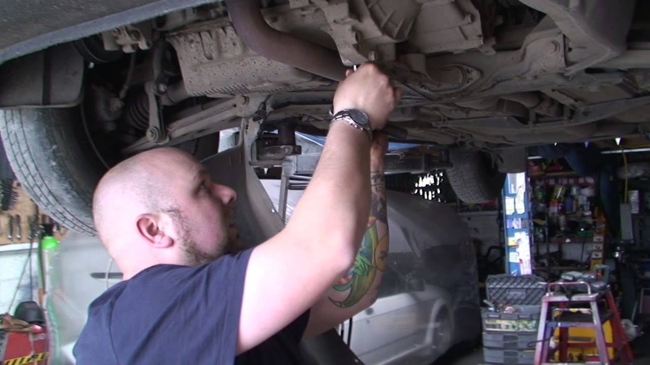 Bodgit And Leggit Garage How To Remove A Car Sump Vw Golf 14 Part Split Window Bus Fuse Box 1 Youtube