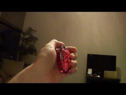 Pink MP3 Grenade Laser PL450