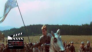 Сцена из фильма Жанна Д'арк (1999), взятие форта